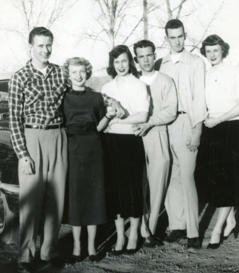Aunt Gloria with Two Other Couples