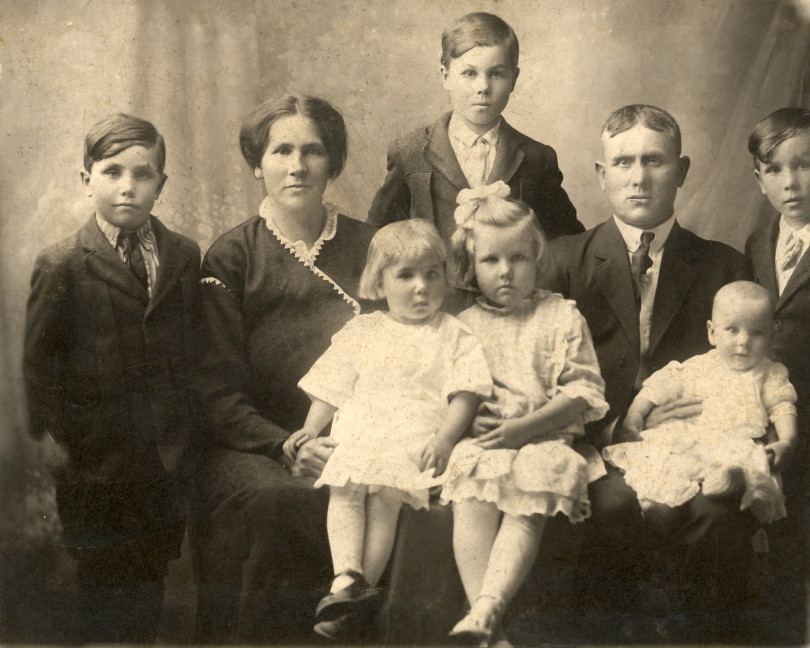 Couple with 6 children