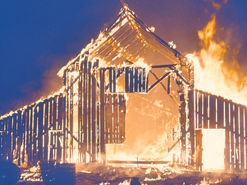 Circleville Barn Fire