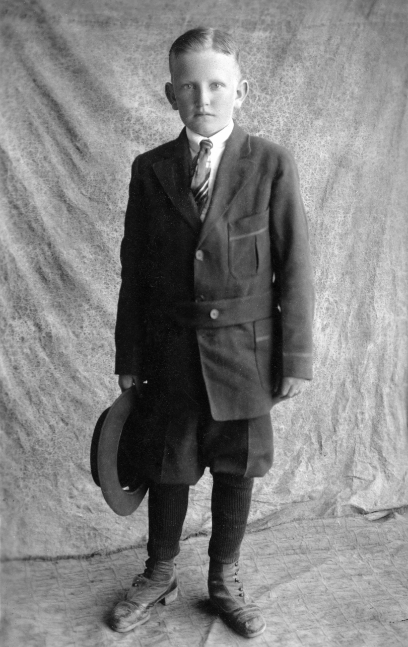 Grandpa Morgan: 12 Years, 10 Months - 1916