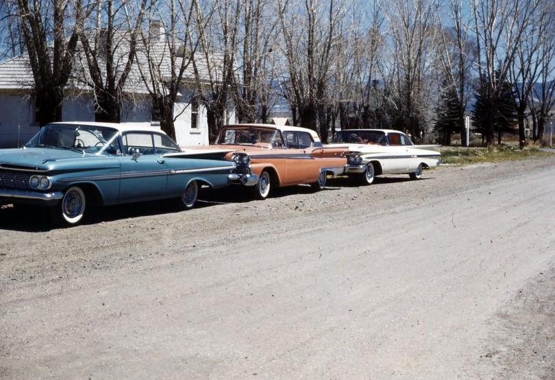 Circa 1956 - 57 - Autos