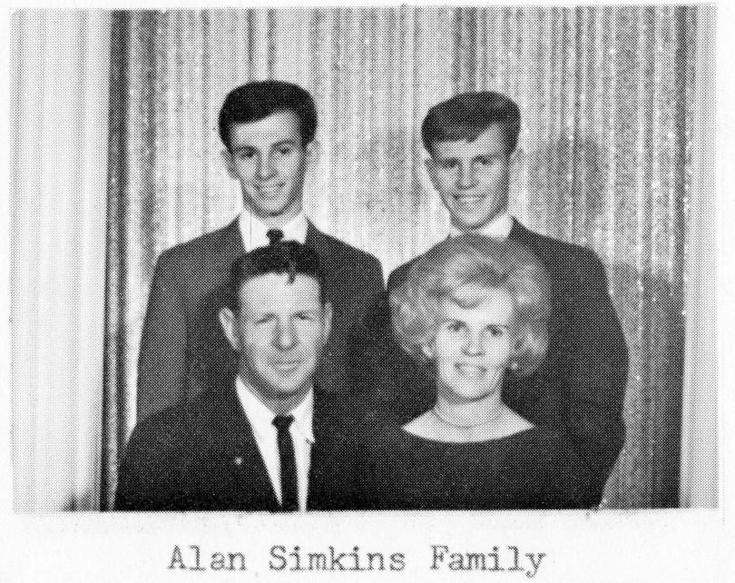 Alan Simkins Family