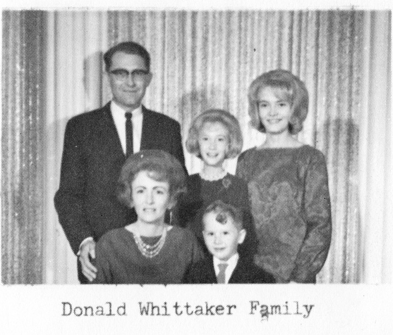 Donald Whittaker Family
