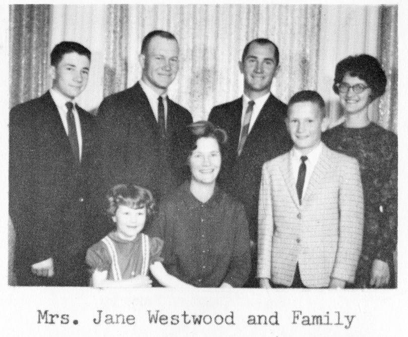 Jane Westwood Family