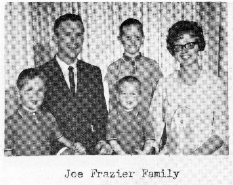 Joe Frazier Family