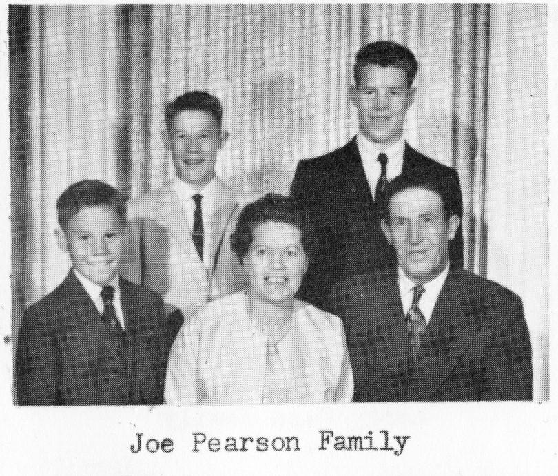 Joe Pearson Family