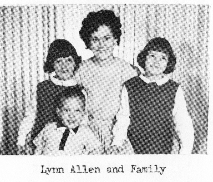 Lynn Allen and Family