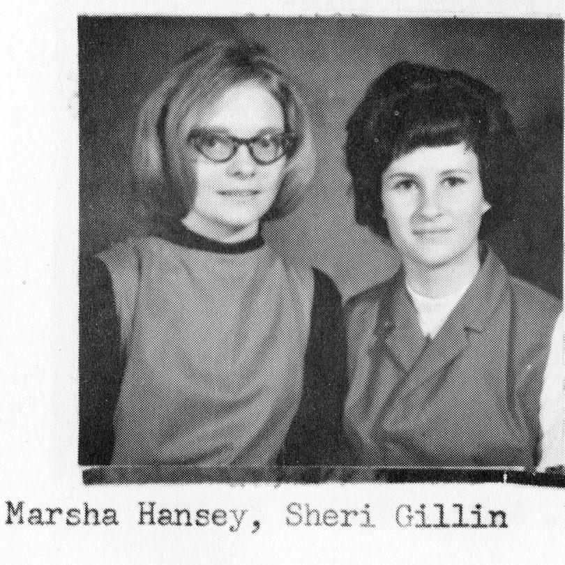 Marsha Hansey and Sheri Gillin