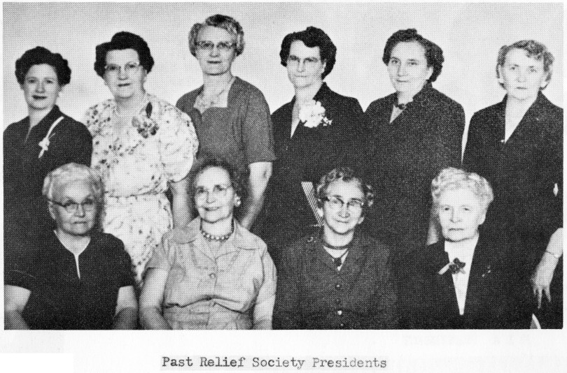 Past Relief Society Presidents