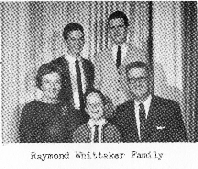 Raymond Whittaker Family
