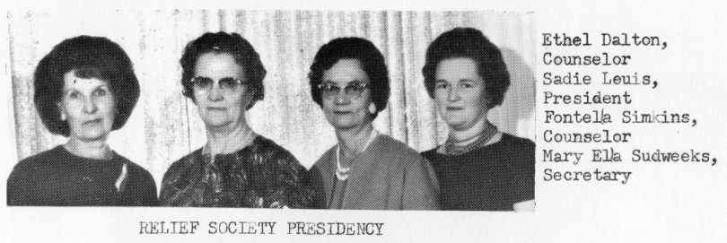 Relief Society Presidency