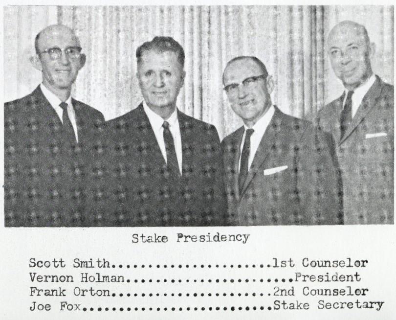 Stake Presidency