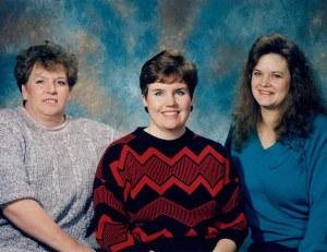 Glenda Reitz, Molly Blackwell and ?