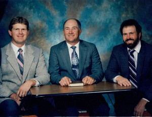 Mike Dalton, Roger Westwood and Chris Fullmer